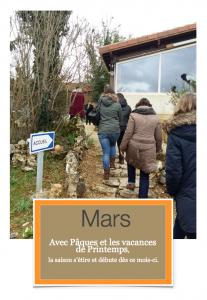 Mois de Mars- 1ère page